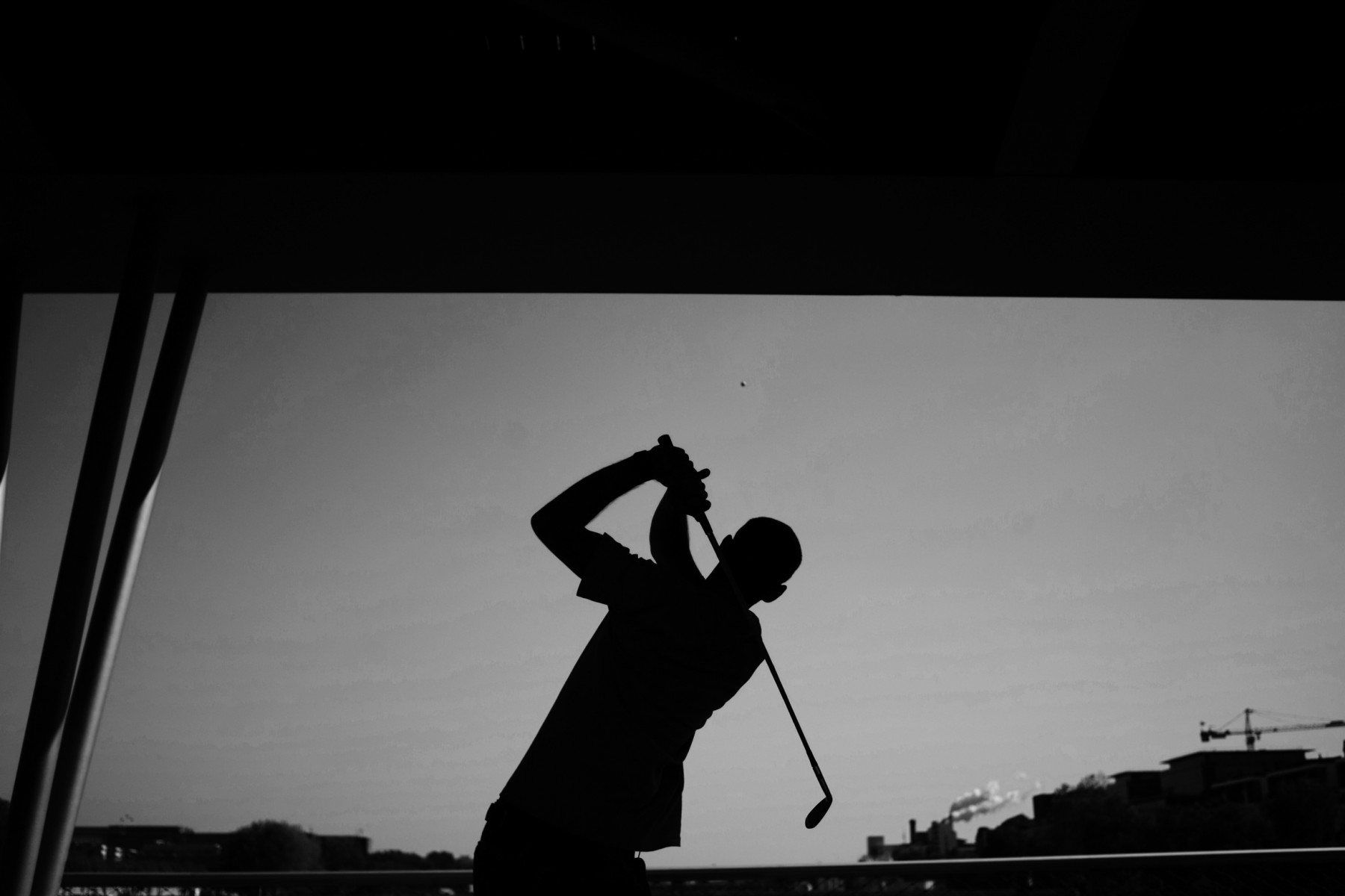 Let's Play, a transmedia project about urban golf practice - 19e-trou-©
