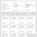 Wireframe, Projects List