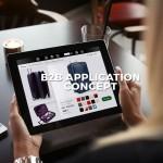 B2B application concept