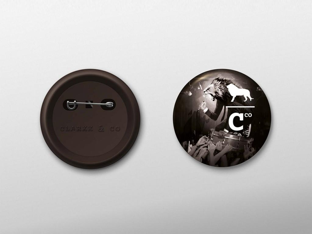 Badge - Clarkk and co