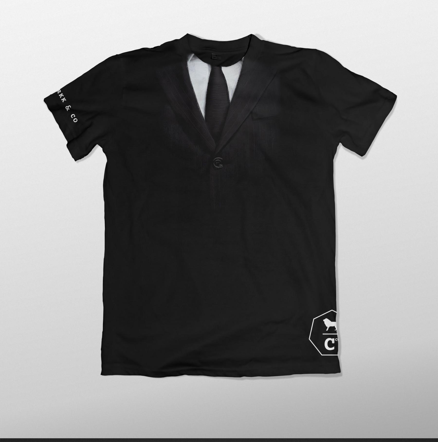 T-shirt - Suit