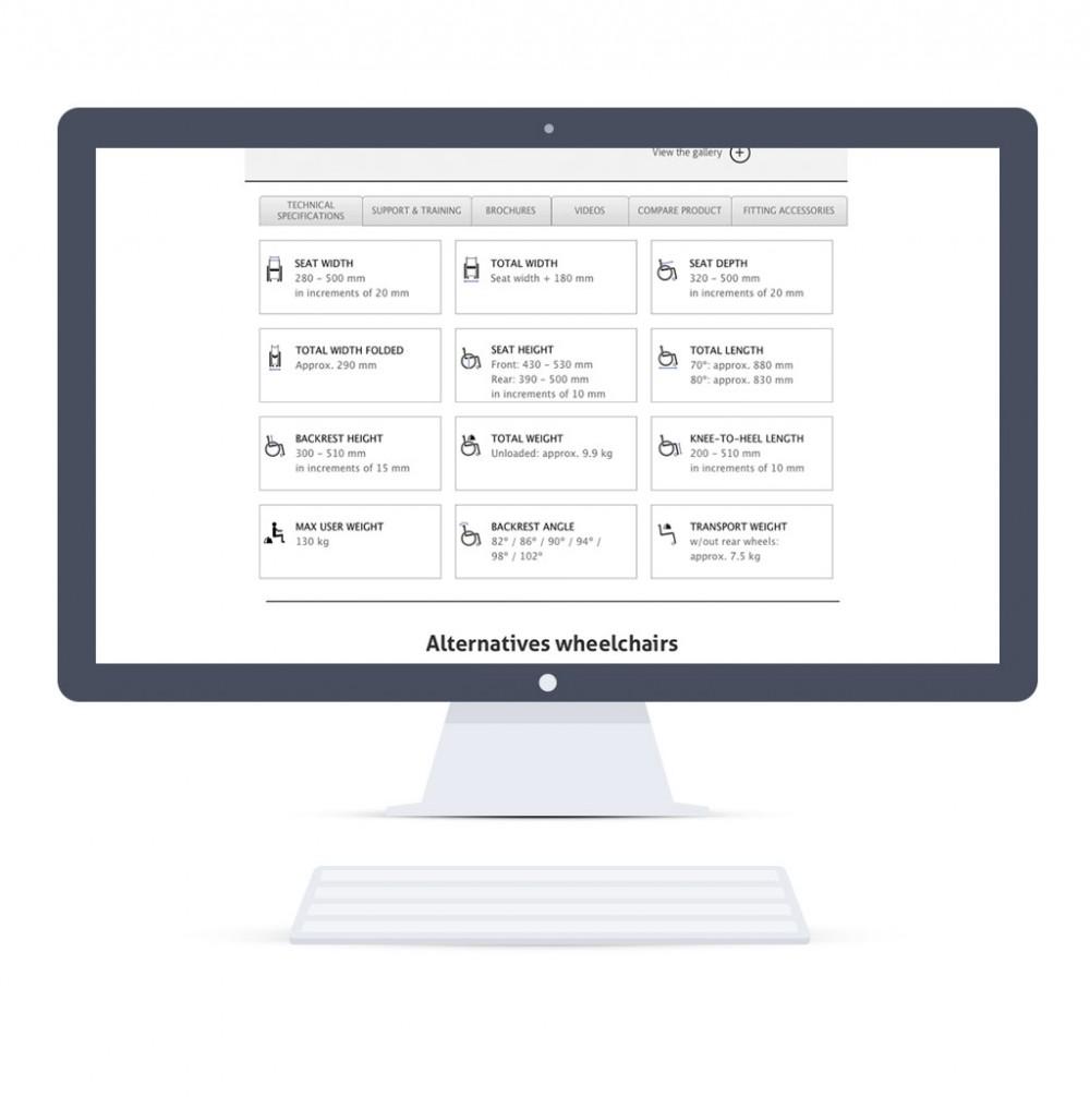 Home page on desktop (Responsive Web Design) - technical information part