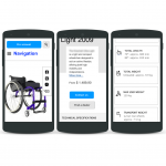 Product page on mobile (Responsive Web Design)