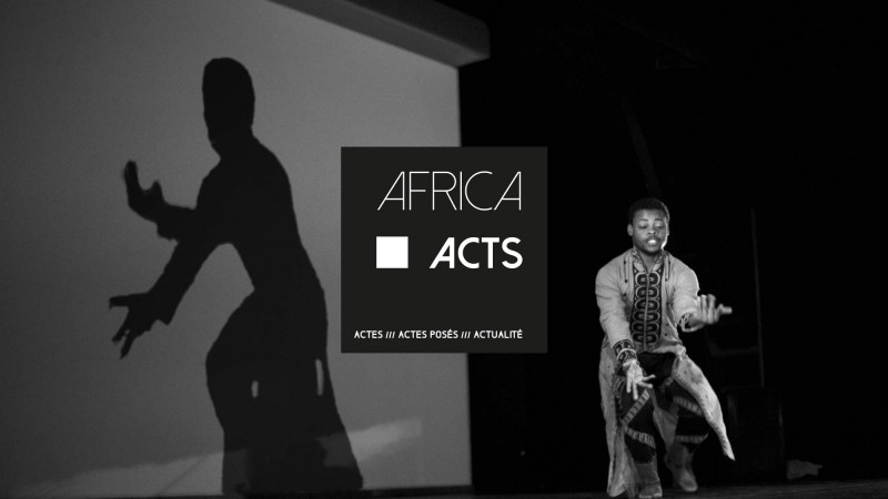 Africa Acts, a week long event about african art