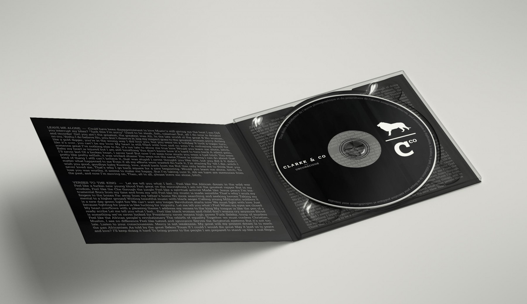 Album Digipack Leaflet